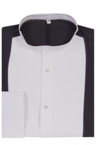 4089 Black-/White Performance shirt