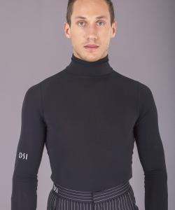 4035 Black polo shirt