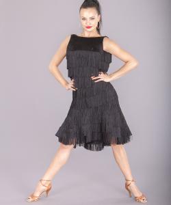 3251 Yuliya fringe dress