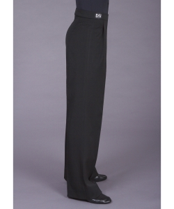 4001 Plain box pleat trouser