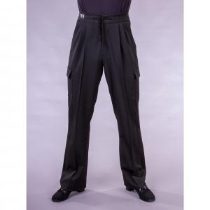 3999  Black Cargo Practise  Trouser with straight leg