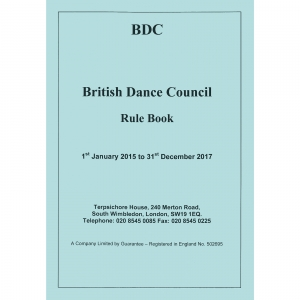 9165 British Dance Council Rule Book